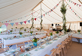 Marquee Layouts and Furniture