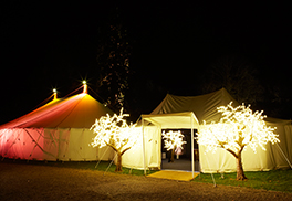 Recommended Locations for Marquees